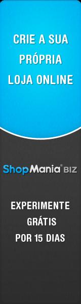 Cria a sua própria loja, experimente grátis por 15 dias